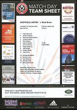 B34 West Bromwich Albion Sheffield United v 15/02/18 Premier League Cup Grupo E