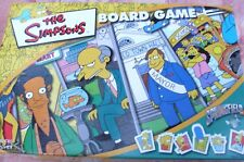 FOX FILMS The Simpson's BOARD GAME Lots of Fun Family Children Kids VG - In Aust