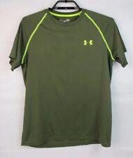 Under Armour loose men's heat gear t-shirt green short sleeve size Sm/P/P