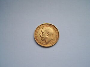 1913 GOLD SOVEREIGN