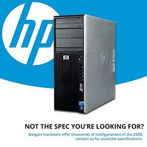 HP Z400 Station Intel Xeon Hexagonal 6 Coeur Quadro Graphique 16GB RAM CAD PC