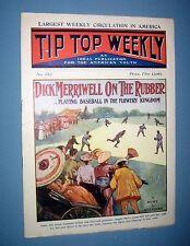 1905  *  TIP TOP WEEKLY  *  baseball story