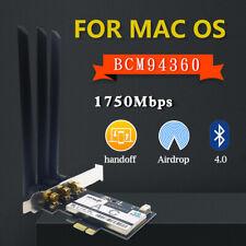 Per HP BCM943228HMB 802.11 A//B//G//N Dual Band Wi-Fi LAN Scheda di rete wireless con TV britannica
