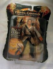 PIRATES OF THE CARIBBEAN DEAD MAN'S CHEST PIRATE CLASH SWORD THRUSTING WILL