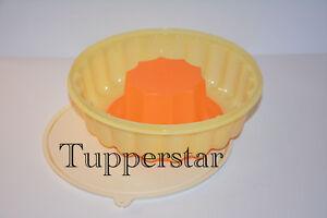 Tupperware Pudding-form Gelb/Orange