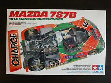 Nice Condition ! TAMIYA 1/24 Model MAZDA 787B '91 Le Mans Winner #24112 So Rad !