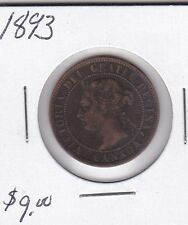 1893 Canada Large Cent VFine