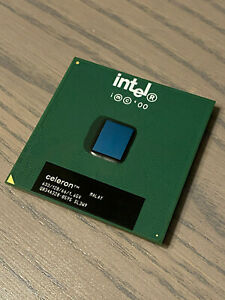 INTEL CELERON SL3W9 CPU - 633MHz SOCKET 370 - 128K Cache, 66 MHz FSB - PPGA370