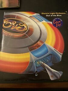 Electric Light Orchestra, Out Of The Blue Double Blue Vinyl Gatefold +Poster