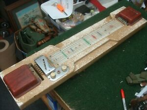Vintage Pedal Steel Guitar by Harlin Brothers circa 1940's - AS IS - Project