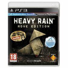PS3 HEAVY RAIN MOVE EDITION VF FRANCAIS PAL PS 3 PLAYSTATION 3 ++ 100% NEUF ++