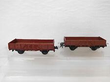 MES-53954Trix Express H0 2 St. Güterwagen DB mit minimale Gebrauchsspuren