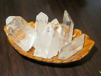 Quartz Crystal Collection 1/4 Lb, 1-2 Inch, Natural Clear Quartz Crystal Points