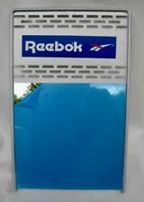 """REEBOK Store Shoe Mirror Metal Frame Stand 12""""x19"""" Retro Country Store 1986-96"""