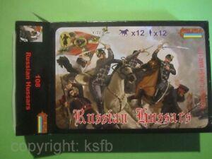 1:72 Strelets #108 Rußland Türkei Krieg russische Husaren Kavallerie WKI ACW