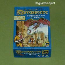 Carcassonne – Die 3. Erweiterung - Burgfräulein und Drache Altes Layout 1A Top!
