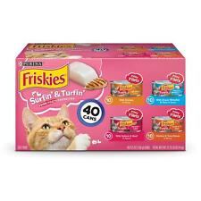 Purina Friskies Surfin' Turfin' Favorites Wet Cat Food Variety Pack - (40) 5.5