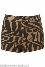 Topshop Denim High Shorts for Women