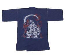 NEW Godzilla Store Limited Men'S Jinbei godzilla Navy Roomware Yukata M/L/XL F/S