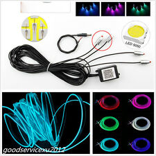 6M RGB LED Neon EL Strip Light Decoration Decoration Lamp Rope Tube APP Control