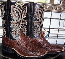 Anderson Bean Sportrust Caiman Crocodile Alligator Cowboy Boots 8.5C Ladies 9.5