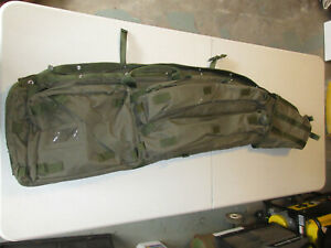 NcStar double rifle drag bag OD green 48 inch used