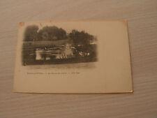 carte postale  les sources du loiret vers 1900