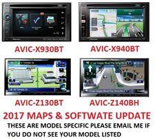 2017 PIONEER AVIC-X930BT 2017 MAPS UPDATE + SOFTWARE 7.0 // BLUETOOTH 3.32