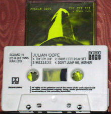 JULIAN COPE TRY TRY TRY  EP CASSETTE 4 TR TEARDROP EXPLODES ROCK POP KRAUTROCK