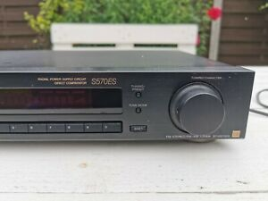 Sony ST-S570ES FM Stereo/FM-AM Tuner Tested And Working