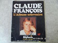 nouveau STEPHANIE HORS SERIE CLAUDE FRANCOIS l'album souvenir   K50