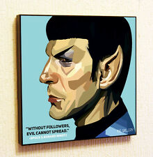 Spock Star Trek Leonard Nimoy Painting Decor Print Wall Poster Canvas Decals