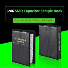 1206 SMD SMT Components Samples Book Capacitors Kit Assorted 80 Values -4000pcs