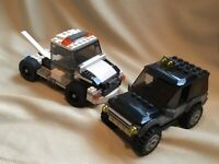 LEGO 60058 - SUV and Tow Truck pre built lot of 2