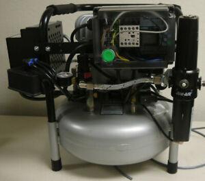 2020 JUN-AIR 15 LITER/4 Gallon Quiet Medical/Dental Compressor 3 hours