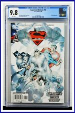 Superman Batman #43 CGC Graded 9.8 DC January 2008 White Pages Comic Book
