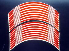 "Rim Tape Wheel Racing Emblem Decal Red Honda CBR Racing Motorcycle 15''-17"" New"