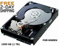 1000GB 1TB Hard Drive Internal SATA 3.5 HISEEU DVR NVR Compatible FAST SHIPPING