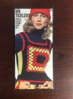 Rib Ticklers: Coats & Clark's Studio Card No. 4 (1971)