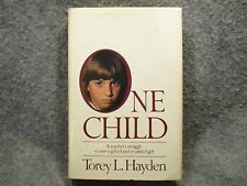 One Child Torey L. Hayden 1980 Vintage Hardcover Book G P Putnam & Sons