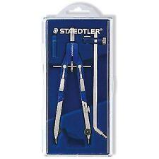 "Staedtler Comfort 4 PC Metal 6"" Quick Setting Compass Set 552 02"