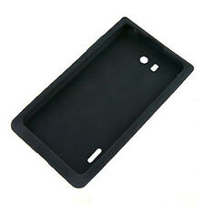 CUSTODIA COVER per LG P700 P705 OPTIMUS L7 SILICONE CASE NERO