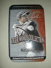 Lot~Tiger Woods Premiere Edition Upper Deck Collectible Set~Commemorate~PGA GIFT