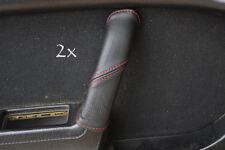 Se adapta a Mazda Rx7 fc3s 2x Manija De Puerta cubre Rojo Stitch
