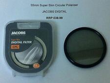 JACOBS DIGITAL 55mm CPL Filter Circular Polariser Camera SUPER SLIM Polarizer