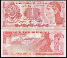 Honduras 1 LEMPIRA 1997 P 79A UNC
