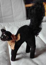 STEIFF, kleiner,schwarzer Kater TOM, 1950 bis 1960, SAUBER, geruchsneutral, echt