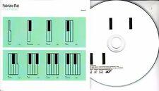 FABRIZIO RAT The Pianist 2017 UK 8-trk promo test CD