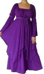 boho peasant dress 8 10 12 14 16 18 20 22 24 26 pagan handfasting alt wedding