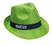 SPARCO Panama Woman Cup Summer Hat Sun Beach GREEN CLEARANCE SALE CHEAP DELIVERY